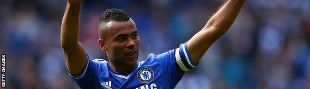 Chelsea defender Ashley Cole