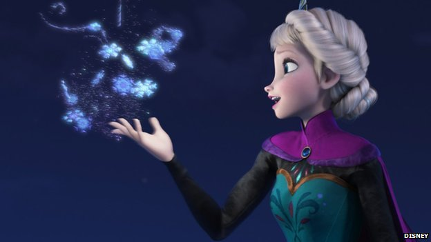Still from Frozen