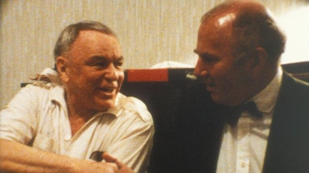 Clive James and Frank Sinatra