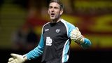 Partick Thistle goalkeeper Paul Gallacher