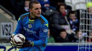 St Mirren goalkeeper Marian Kello