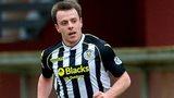 Paul McGowan playing for St Mirren