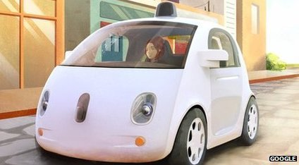 Google self-drive car