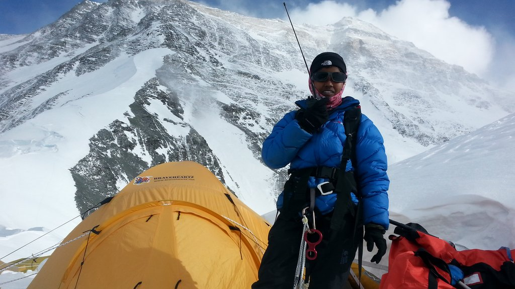 youngest girl to climb everest wants to be role model