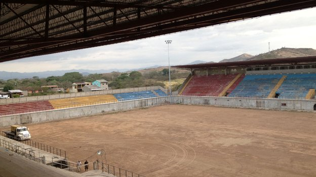Stadium in Juticalpa