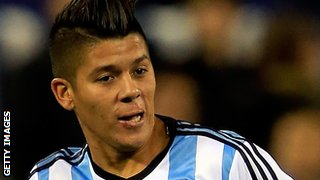 Argentina and Sporting Lisbon defender Marcos Rojo