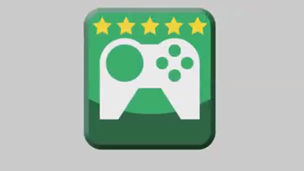 Games app with rating