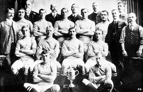 Manchester City, FA Cup Winners, 1904