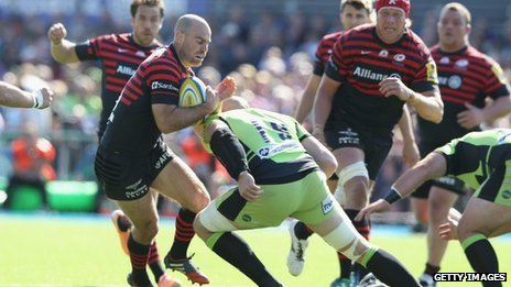 Northampton Saints v Saracens