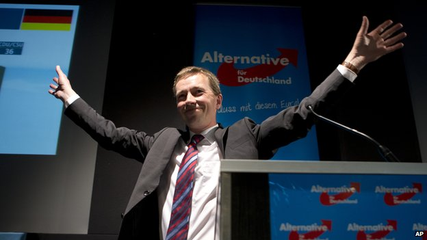 AfD leader Bernd Lucke