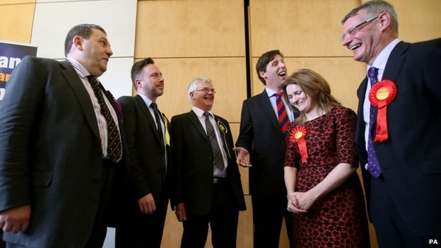 Scotland's newly elected MEPS