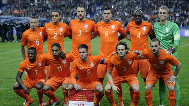 World Cup team profiles - The Netherlands