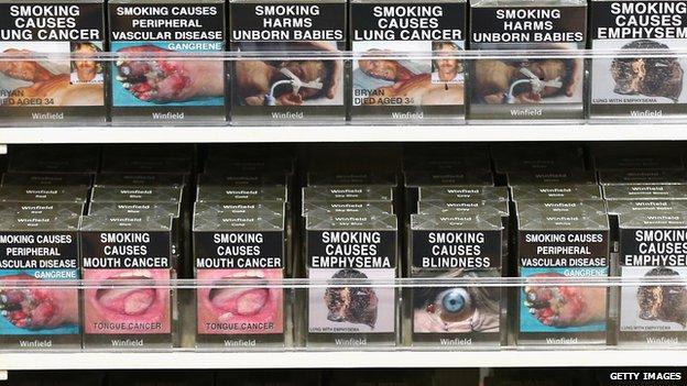 Cigarettes on sale in Australia