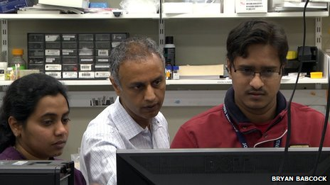 Prof Pandey and team