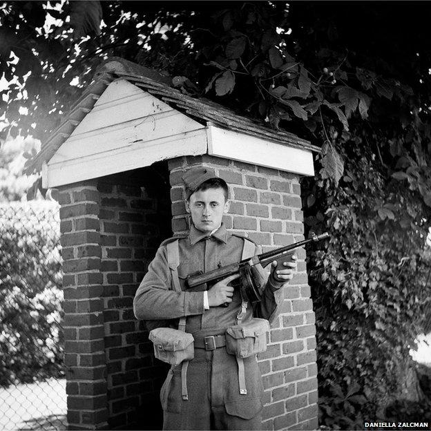 Callum Musgrove, British Home Guard Private