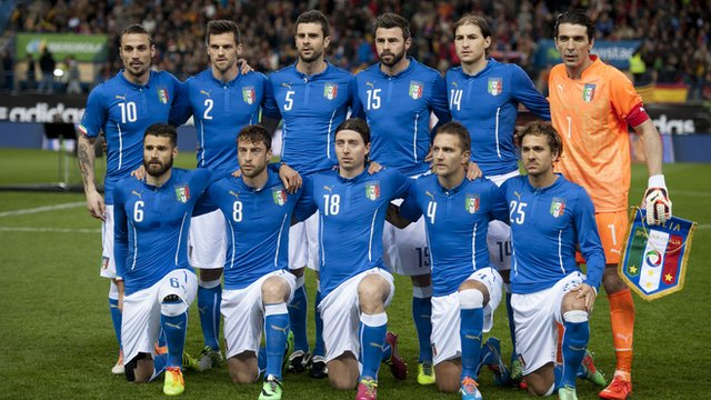 World Cup team profile: Italy