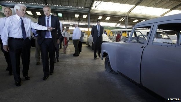 US Chamber of Commerce's visit to Cuba