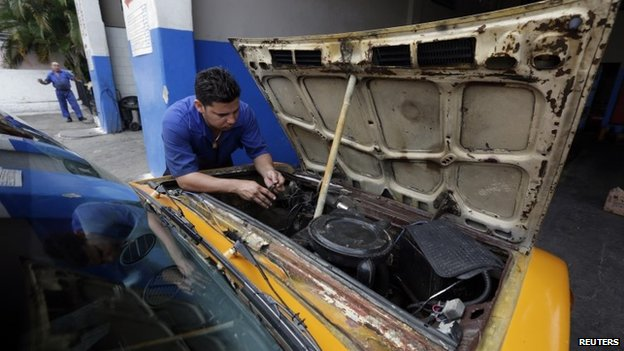 Cuban mechanic, April 14