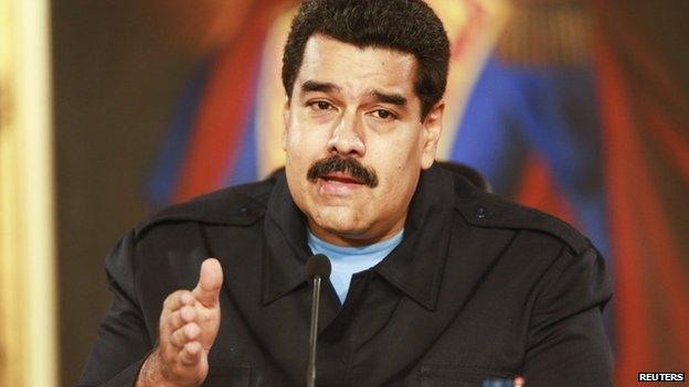Nicolas Maduro, 20 May 14
