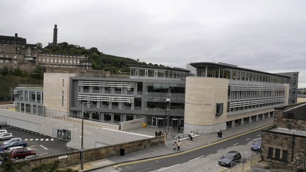 Men In Court Over Alleged Edinburgh Council Building