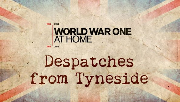 Programme logo - Despatches from Tyneside