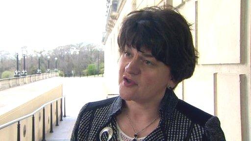 Tourism Minister Arlene Foster