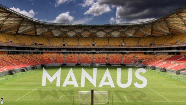 Brazil's Soccer Cities: Manaus