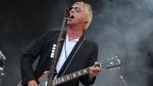 Paul Weller at Glastonbury