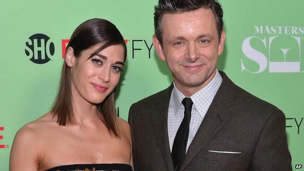 Lizzy Caplan and Michael Sheen
