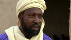 Sheikh Abbas Yahaya at a Koranic school in Agadez, Niger