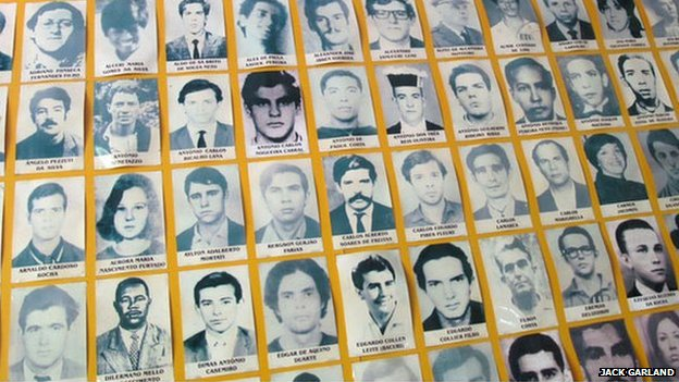 Pictures showing some of the dead and disappeared