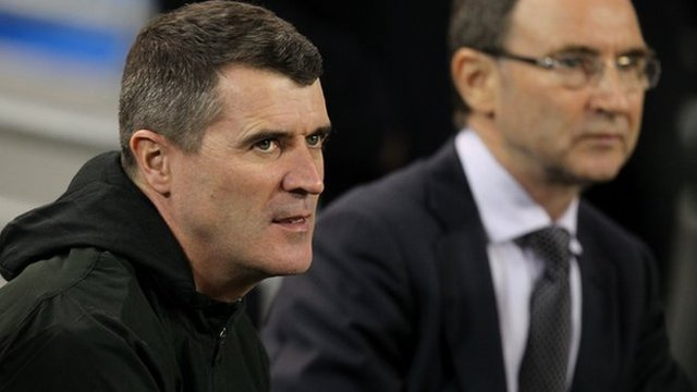 Roy Keane and Martin O'Neill