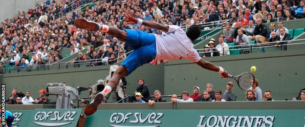 Gael Monfils Dive Says Gael Monfils of This