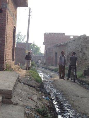 Scene fro village