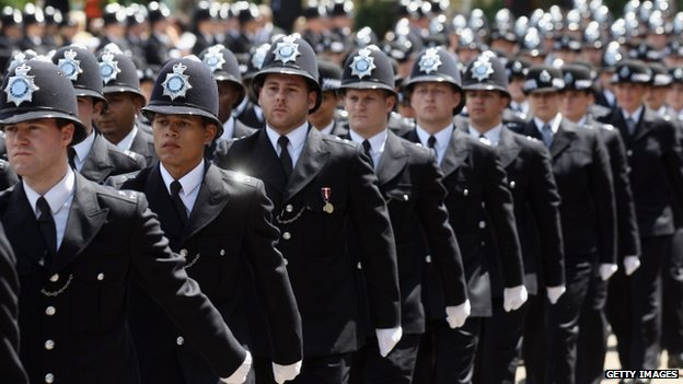 Police on parade