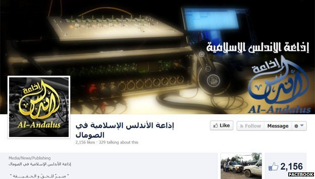 Radio Andalus's Facebook page