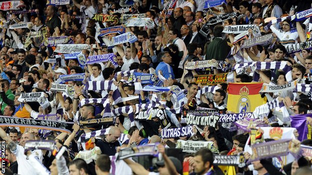 Real Madrid have been ordered to partially close the Bernabeu for one match
