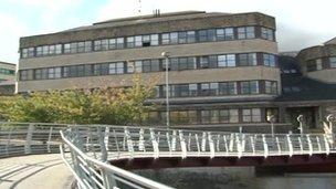 Bridgend council's offices
