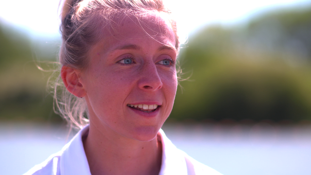 Great Britain rower Kat Copeland