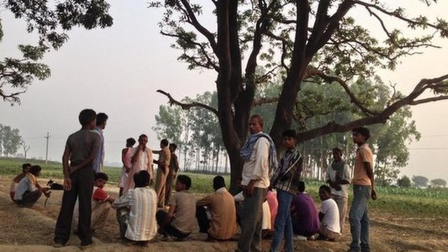 India police fired over hanged girls