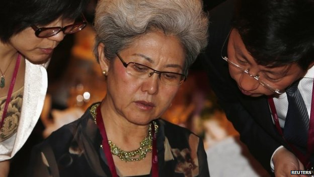 Chinese Vice Foreign Minister Fu Ying at the Shangri-La Dialogue in Singapore, 30 May 2014