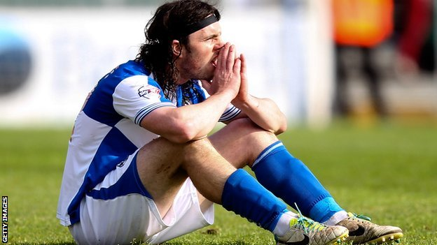 John-Joe O'Toole after Bristol Rovers' relegation