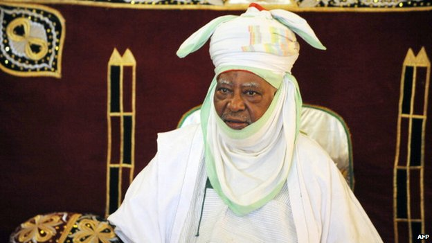 The Emir of Kano, Ado Bayero, pictured in 2011