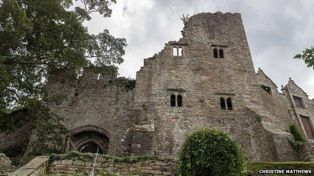 Hay Castle (Pic: Christine Matthews)
