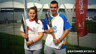 Batons from 2002 and 2014