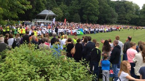 Turn out in Congleton Park