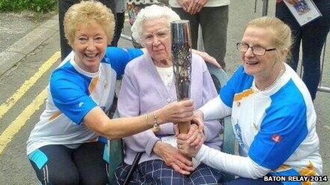 (l-r) Ann Brightwell, Emily Bowyer and Jane Whetnall