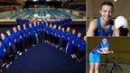Scotland's Glasgow 2014 Swim team, boxer Josh Taylor and cyclist Katie Archibald