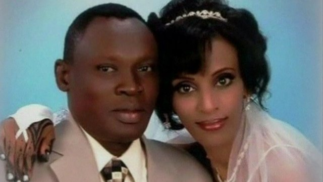 Meriam Ibrahim and her husband, Dani Wani