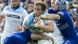 Glasgow attempt to break through the Leinster defence
